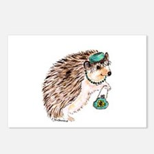 Fashionista Hedgie Hedgehog Postcards (Package of
