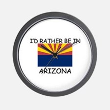 I'd rather be in Arizona Wall Clock