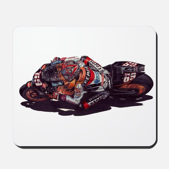 Nicky Hayden Mousepad