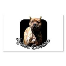 Presa Canario Rectangle Decal