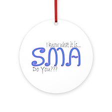 I Know...Do You??? Ornament (Round)