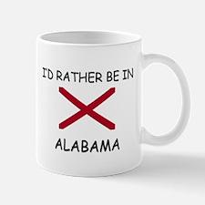 I'd rather be in Alabama Mug