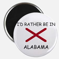 I'd rather be in Alabama Magnet