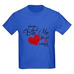Please Bite Me Edward Kids Dark T-Shirt