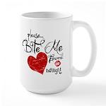 Please Bite Me Edward Large Mug