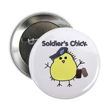 "Soldier's Chick 2.25"" Button"