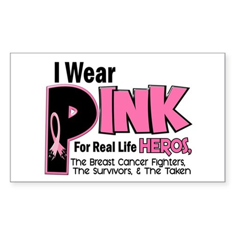 I Wear Pink For Fighters Survivors Taken 19 Sticke