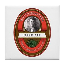 Wittgenstein Ale Tile Coaster