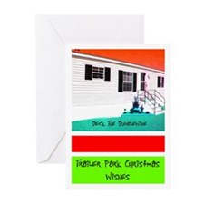 Trailer Park Christmas Cards (Pk of 10)
