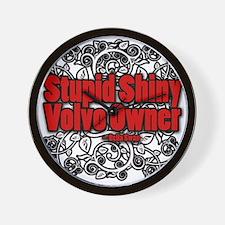 Stupid Shiny Volvo Owner Wall Clock