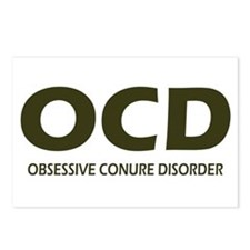 Obsessive Conure Disorder Postcards (Package of 8)