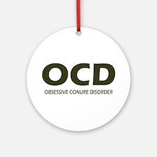 Obsessive Conure Disorder Christmas Ornament