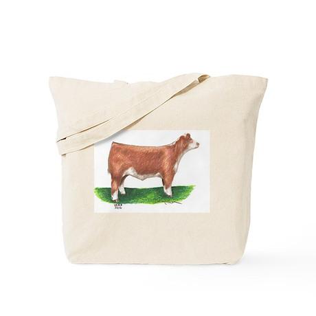 Hereford Steer Tote Bag