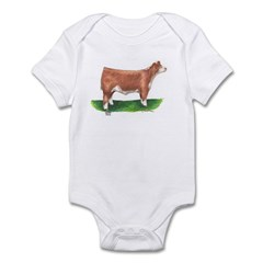 Hereford Steer Infant Bodysuit