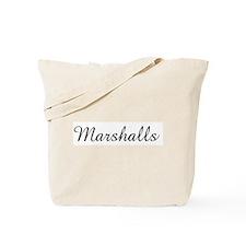 Marshalls Tote Bag