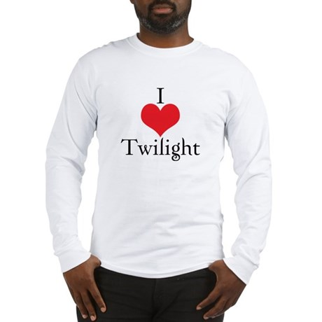 I Love (Heart) Twilight Long Sleeve T-Shirt
