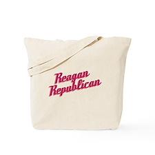 Reagan Republican (pink) Tote Bag