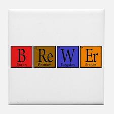 Brewer Compound Tile Coaster