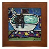 Labrador retriever Framed Tiles
