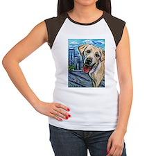 Downtown Dog Women's Cap Sleeve T-Shirt