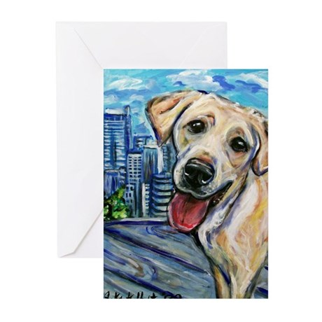 Downtown Dog Greeting Cards (Pk of 10)