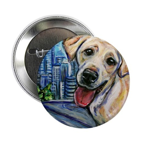 """Downtown Dog 2.25"""" Button (10 pack)"""