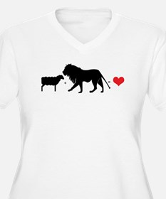 Lion Fell in Love with the Lamb T-Shirt