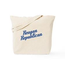 Reagan Republican (blue) Tote Bag