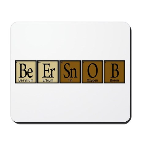 Beer Snob Compound Mousepad