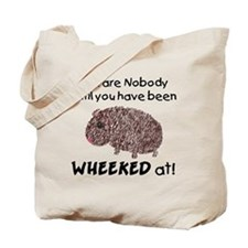 Wheeked At Tote Bag