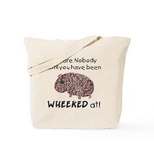 Wheeked At Tote Bag