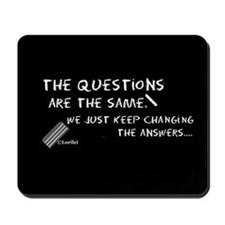 Questions Mousepad