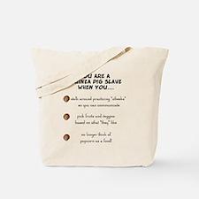 Guinea Pig Slave Tote Bag