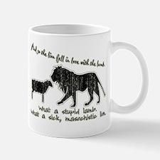 Twilight Stupid Lamb, Sick Lion Mug