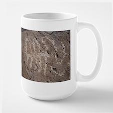 Desert Rock Art Figure Mug