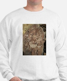 Desert Rock Art Sweatshirt