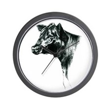Angus Cow Wall Clock