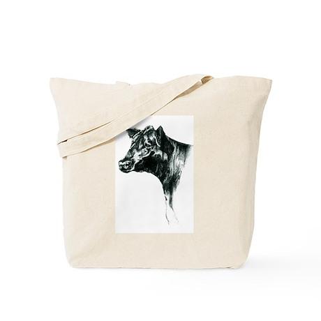 Angus Cow Tote Bag