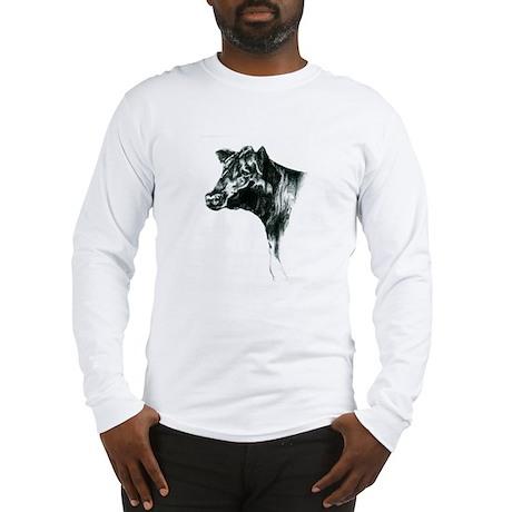 Angus Cow Long Sleeve T-Shirt
