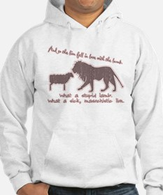 Twilight Pink Lion and Lamb Hoodie