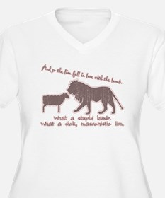 Twilight Pink Lion and Lamb T-Shirt