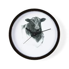 Angus Bull Wall Clock