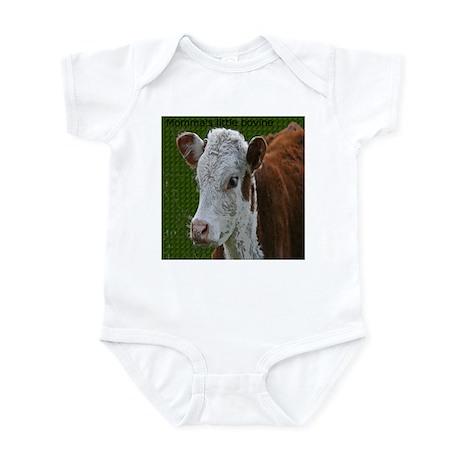 Momma's little bovine Infant Bodysuit