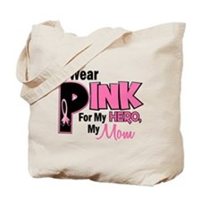 I Wear Pink For My Mom 19 Tote Bag