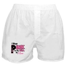 I Wear Pink For My Mom 19 Boxer Shorts