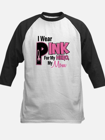 I Wear Pink For My Mom 19 Kids Baseball Jersey