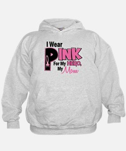 I Wear Pink For My Mom 19 Hoodie