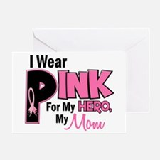 I Wear Pink For My Mom 19 Greeting Card