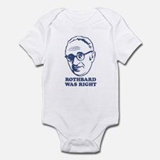 Rothbard Was Right Infant Bodysuit