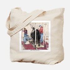 """Bred Owned and Shown"" Tote Bag"